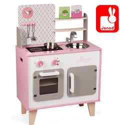 le grenier aux jouets sp cialiste des jouets en bois saint etienne janod maxi cuisine. Black Bedroom Furniture Sets. Home Design Ideas