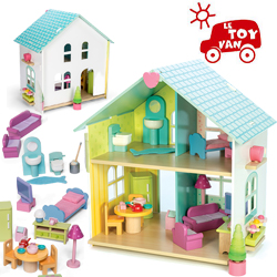 le grenier aux jouets sp cialiste des jouets en bois saint etienne letoyvan maison de. Black Bedroom Furniture Sets. Home Design Ideas